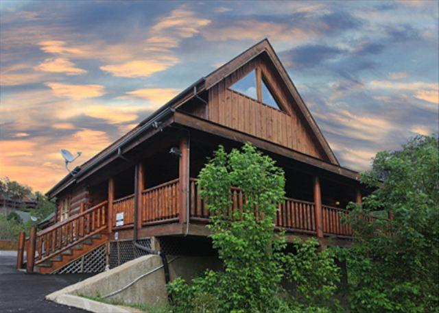 Divine, Private Covered Porch, Hot Tub, Elegant Décor, Stone Fireplace, PS3 - Image 1 - Sevierville - rentals