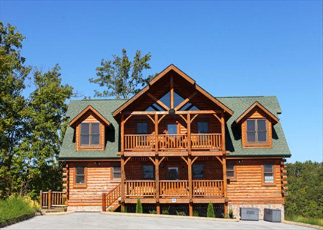 Estate of Relaxation a nine bedroom cabin - Image 1 - Sevierville - rentals