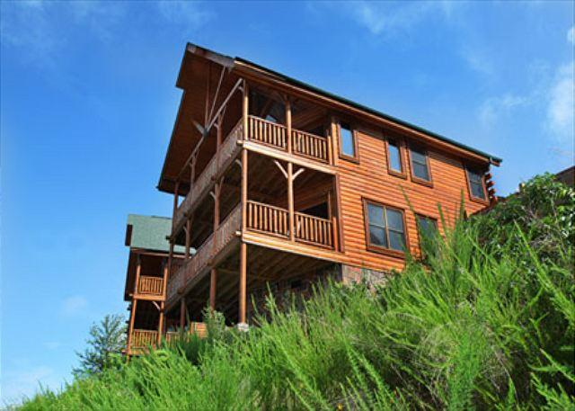 Cabin - Up, Up & Away a two bedroom cabin - Sevierville - rentals