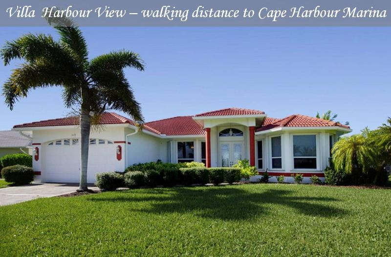 Villa Harbour View - Gulf access home, walking dis - Image 1 - Cape Coral - rentals