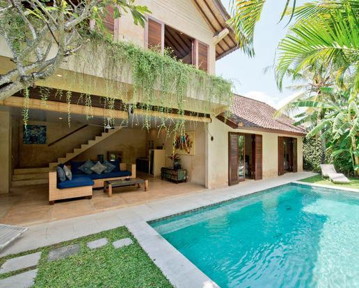 Villa and Pool view - Rumi 3, Luxury 3 Bedroom Villa, Seminyak - Seminyak - rentals