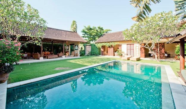 Villa and Pool view - Rumi 4, Luxury 4 Bedroom Villa, Seminyak - Seminyak - rentals