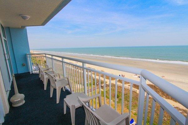 Direct oceanfront views - Holiday Suites -  501 - Myrtle Beach - rentals