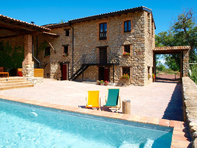 Cal Pesolet Eco Turisme Rural in summer - Eco Villa with natural pool in the Pyrenees - Bellver de Cerdanya - rentals