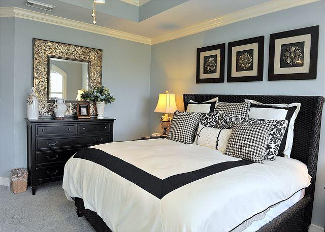 "Upstairs Master Bedroom - Make Summer Plans to Stay at  Tivoli Terrace's ""WHO DAT?"" Villa!! - Sandestin - rentals"