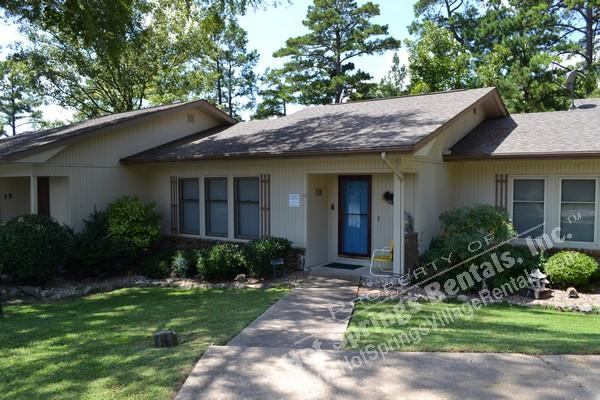 Front v1 - 13TorrWy | Lake DeSoto | Townhome | Sleeps 6 - Hot Springs Village - rentals