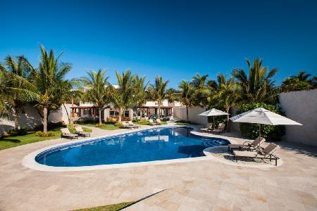 Azul Villa Carola - Spectacular Beachfront Villa with Pool, Jacuzzi and Staff - Image 1 - Puerto Morelos - rentals