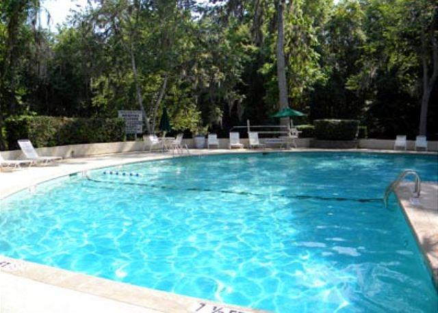 Pool at Golfmaster - Golfmaster 304, 2 Bedrooms, Large Pool, Tennis, Sleeps 6 - Hilton Head - rentals