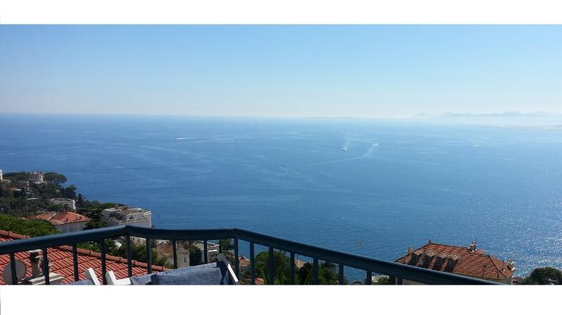 Sea View 180 degrees, main terrace - Nice French Riviera Most spectacular Sea views 2bd - Nice - rentals