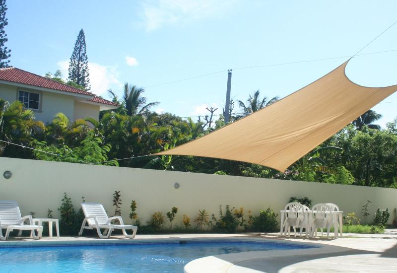 Pool - Beach two bedroom apartment without AC - Puerto Plata - rentals