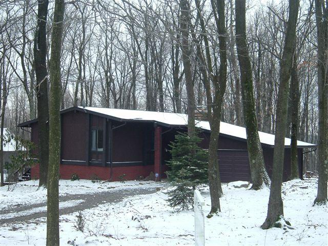 exterior winter - Welcome to Paradise - Deep Creek Lake & WISP ski - McHenry - rentals