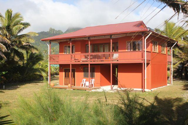 Matangi Moana (Ocean Breeze) beach front villa - Image 1 - Rarotonga - rentals
