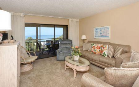 Living Area - Chinaberry 453 - Siesta Key - rentals