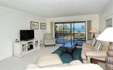 Living Area - Chinaberry 435 - Siesta Key - rentals