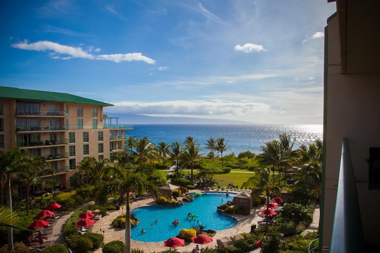 Maui Westside Properties: Hokulani 549 - Great Ocean View Interior Courtyard! - Image 1 - Ka'anapali - rentals