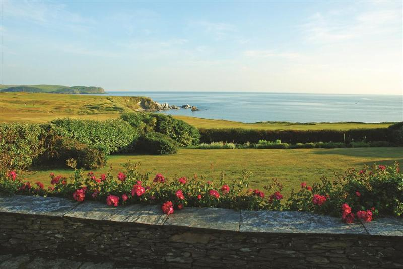 Links Cottage view to sea - Links Cottage - Kingsbridge - rentals