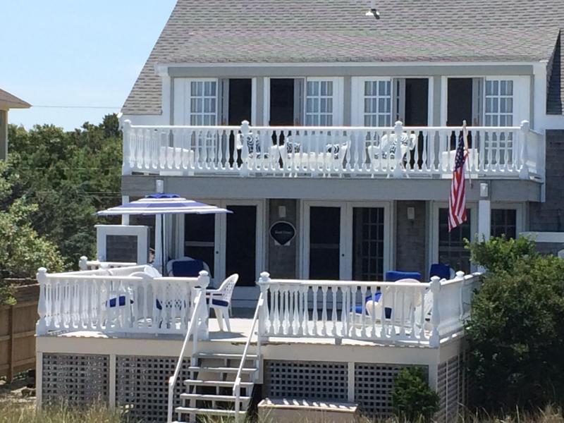Stunning Ocean Front Home!  Private beach and a beautiful garden. - Stunning Ocean Front Home with private beach. - Sagamore Beach - rentals