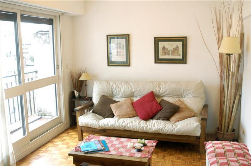 Bright 2 BR Flat in Palermo Balcony - Image 1 - Buenos Aires - rentals