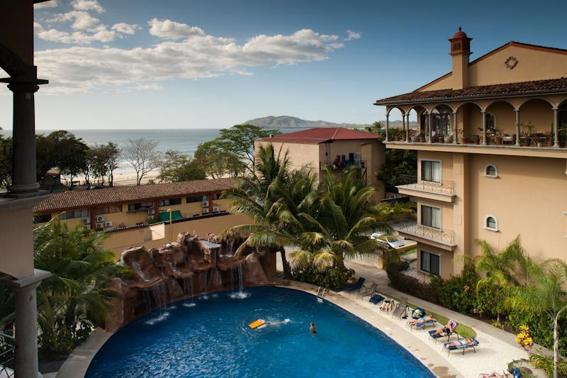 View from the balcony - Sunrise 12 - Tamarindo - rentals
