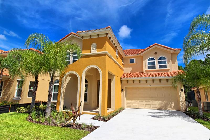 Front of Home - Watersong 6 Bed 5.5 Bath Pool Home (466-WATER) - Davenport - rentals