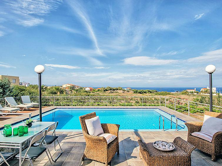 4 bedroom Villa in Stavros, Chania, Chania, Crete, Greece : ref 2099062 - Image 1 - Stavros - rentals