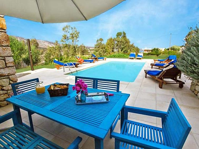 4 bedroom Villa in Stavros, Chania, Crete, Greece : ref 2295103 - Image 1 - Marathi - rentals