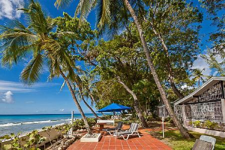 Tropical West We Go on sublime white sand beach with alfresco showers & staff - Image 1 - Sandy Lane - rentals