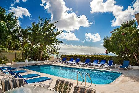 Oyster Bay - Bright villa with extensive sand stretch on Lower Carlton Beach and spacious pool deck - Image 1 - Reeds Bay - rentals