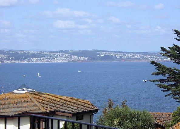 View from the balcony - BAYVI - Brixham - rentals