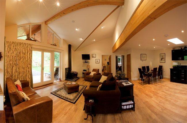 Open-plan living area - MOREA - Holford - rentals