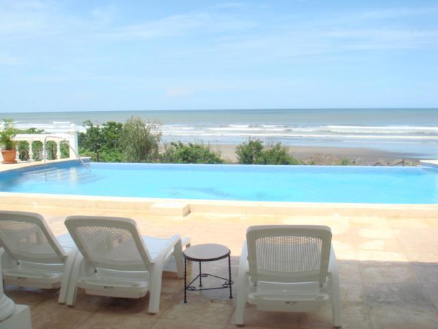 Pochomil Beachfront Villa Rental  Private Pool PL1 - Image 1 - Pochomil - rentals
