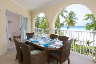 3 Bedroom Beachfront Condo in Christ Church with amazing accomodations - Image 1 - Christ Church - rentals