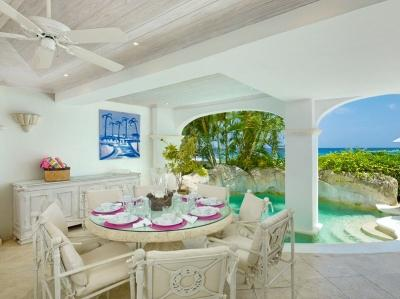 Beautiful 3 Bedroom Beachfront Apartment in Paynes Bay - Image 1 - Paynes Bay - rentals