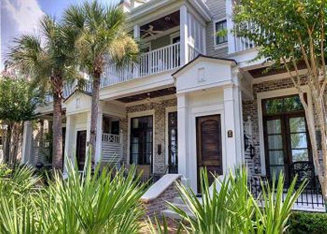 Front of Townhome - 'Tour de France'  In This Beautiful French Style Home Located At The Village! - Sandestin - rentals