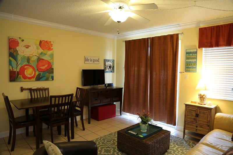 Living room TV - Gulf Shores Plantation 1103- Gulf Front - Gulf Shores - rentals