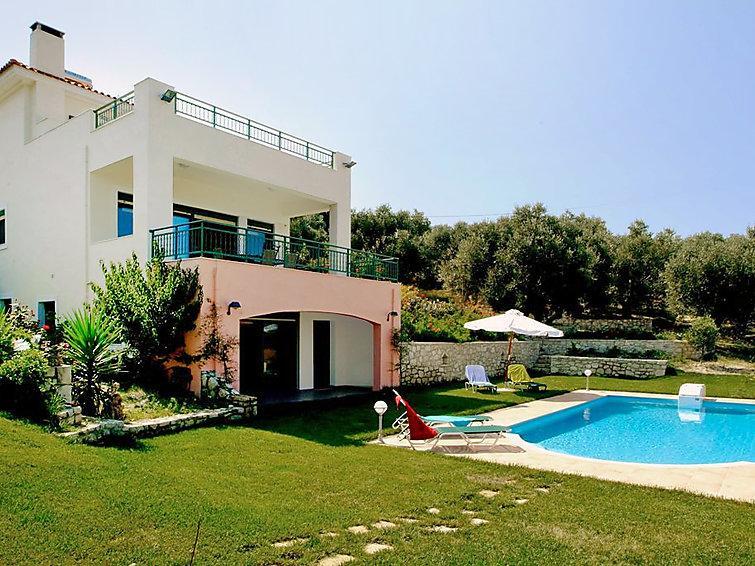 4 bedroom Villa in Agios Dimitrios, Rethymno, Crete, Greece : ref 2218014 - Image 1 - Loutra - rentals