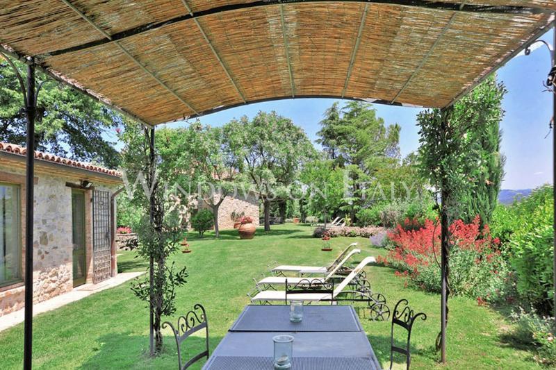 Villa Al Confine - Windows On Italy - Image 1 - Umbertide - rentals