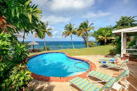 Sea Pearl - Tropical hideaway with pool, near beach & snorkeling - Image 1 - Cap Estate - rentals