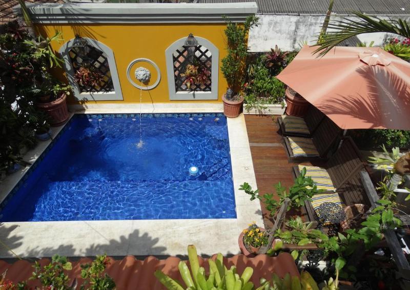 The Pool - The Villa in RIO de Janeiro-3 Bedrooms+Pool OR 7 B - Rio de Janeiro - rentals