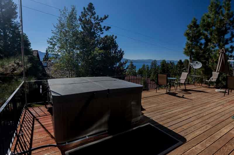 Hot Tub With Lake Views - Sherman Lakeview Lodge - Lake Tahoe - rentals