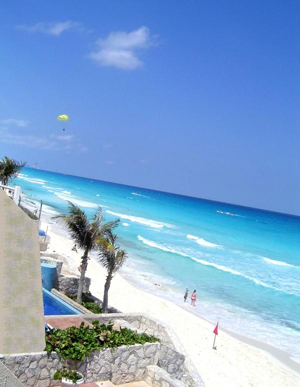 View from Terrace - Luxury 4-Less Beach Cancun Villa Quintana Roo - Cancun - rentals