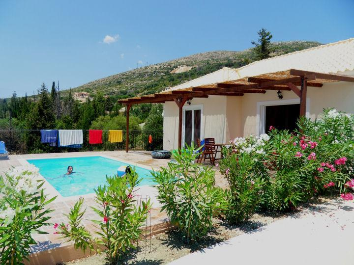 naturist villa with private pool at Skala near mou - Image 1 - Skala - rentals
