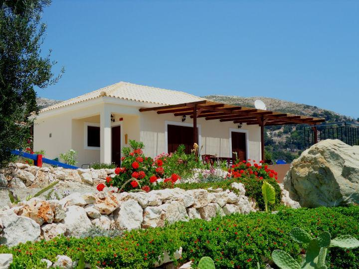 Little naturist villa with private pool in the gre - Image 1 - Skala - rentals