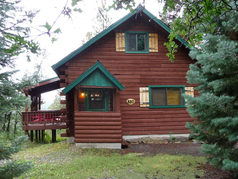 After Summer Rain Storm - Alpine Haven Log Cabin, Pretty Views, Ski, Hot Tub - Pagosa Springs - rentals