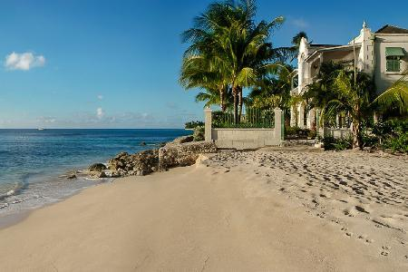 Beachfront Caprice villa is gated features a plunge pool, sunset views, staff & cook - Image 1 - Reeds Bay - rentals