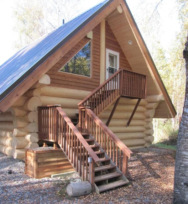 """The Loft - Cabin Downtown Area - """"The Loft"""" Cabin w/  Tree-top View, Downtown Area - Talkeetna - rentals"""