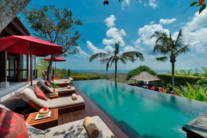 Villa Capung Pool - Uluwatu Bali Villa Capung luxury 3bdrm stunning views - Jimbaran - rentals