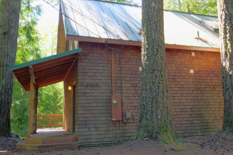 Dog-friendly recently remodeled riverfront home with firepit - Image 1 - Rhododendron - rentals