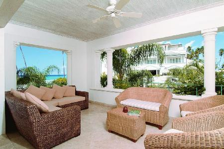 Ocean view The Palms at Schooner Bay steps to the beach with luxe amenities access - Image 1 - Speightstown - rentals