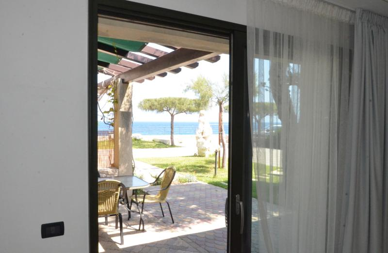 The view from the master bedroom - Seafront Mediterranean style Villa-Salento-Otranto - Melendugno - rentals
